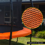 UP-SHOT 8ft Replacement Trampoline Inside Safety Net Spare Part Enclosure 6 Pole