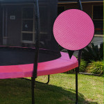 UP-SHOT 12ft Pink Replacement Trampoline Pad-Spring Reinforced Round Outdoor