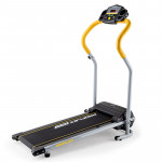 PROFLEX Electric Treadmill Compact Home Gym Exercise Equipment Black/Silver/Yellow