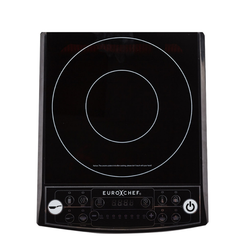 EuroChef Electric Induction Portable Cooktop Ceramic Hot Plate Kitchen Cooker by EuroChef