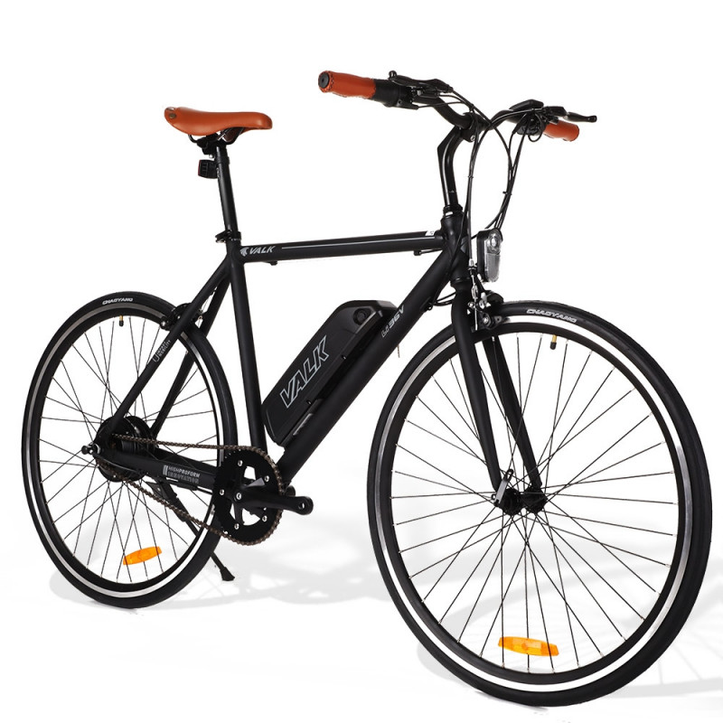 VALK Fixed Speed Electric Bike eBike Commuter Motorized Battery Fixie 36V 250W by Valk