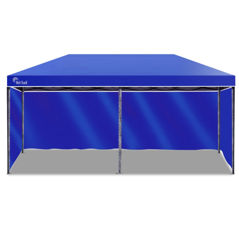 Red Track 3x6m Folding Gazebo Shade Outdoor NAVY BLUE Foldable Marquee Pop-Up by Red Track