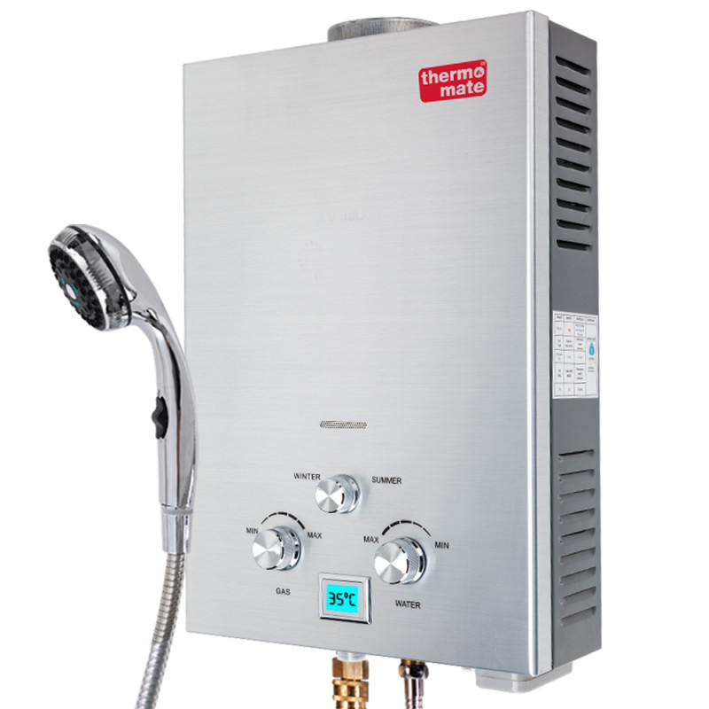 Thermomate 12V Tankless Outdoor Camping Shower Water Heater by Thermomate