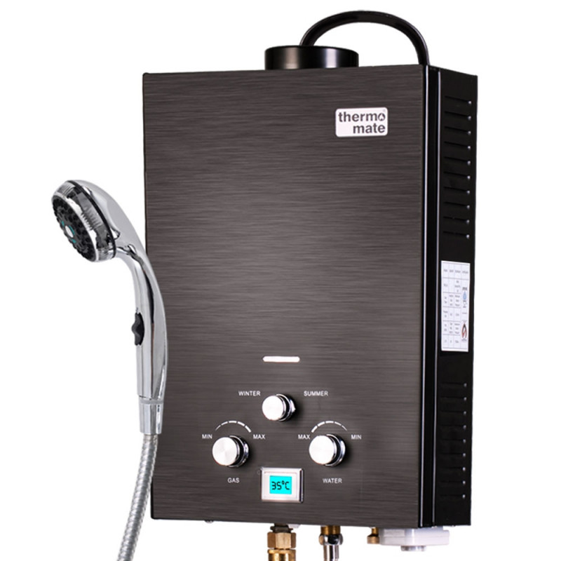 Thermomate 12V Tankless Portable Camping Shower Water Heater by Thermomate