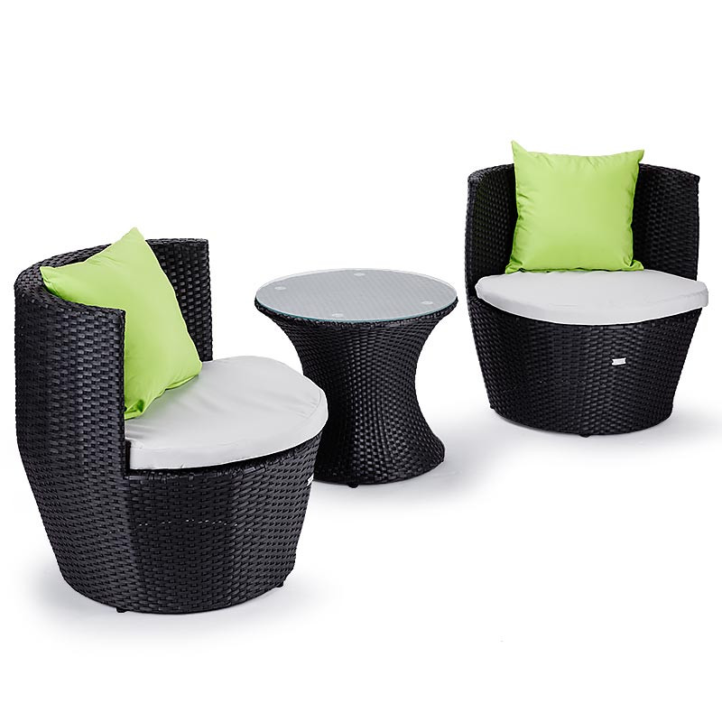 3 Piece Seats & Side Table Set Shop Outdoor Dining Sets