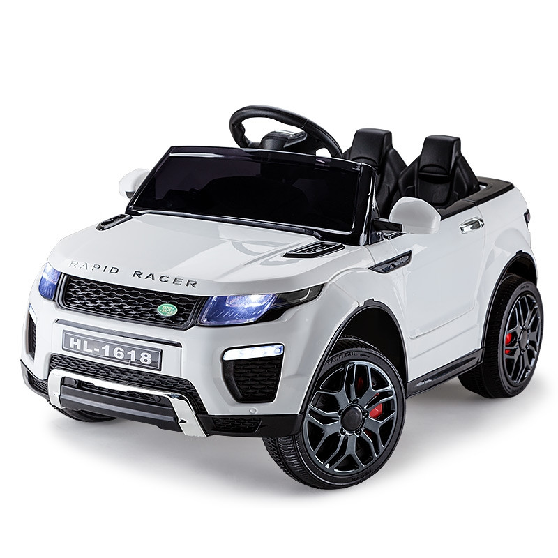 White 12V Range Rover Inspired Kids Ride On Car