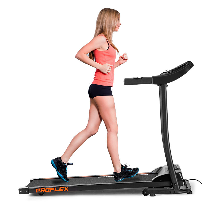 PROFLEX Electric Treadmill with Fitness Tracker Home Gym Exercise Equipment - TRX2 Elite by Proflex