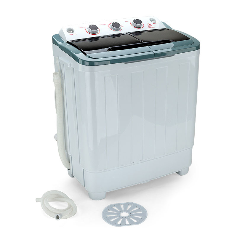 GECKO 5kg Mini Twin Tub Portable Washing Machine Camping Caravan Outdoor Boat RV by Gecko