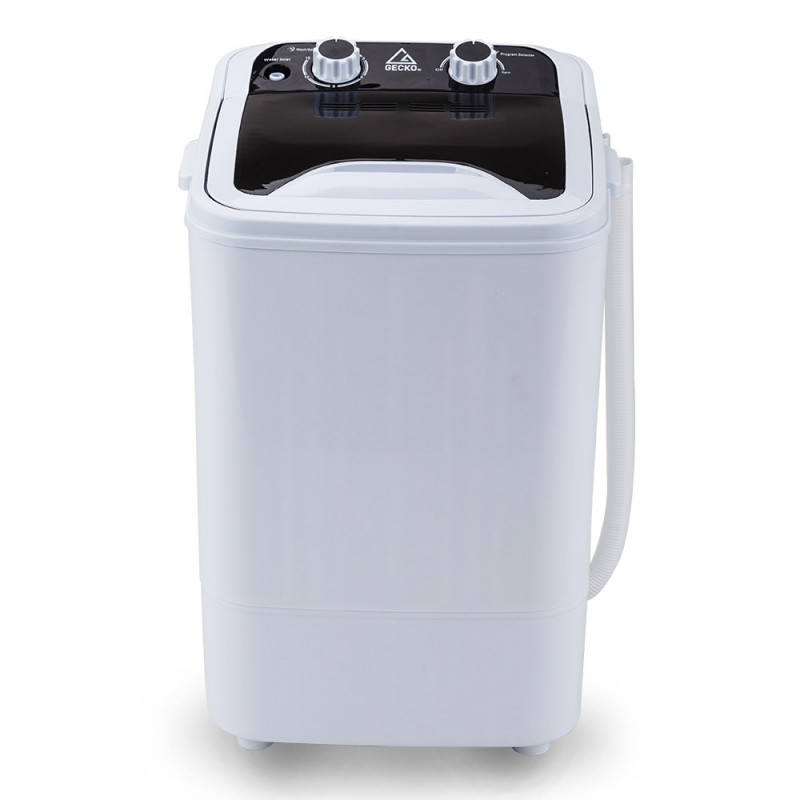 Grey/White 4.6kg Portable Washing Machine - GPY-5GY by Gecko