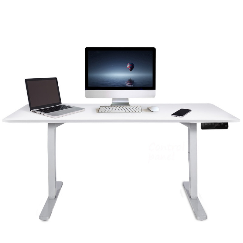 150cm Height Adjustable Standing Desk Electric Sit Stand Up Motorised Office WT  by Avante