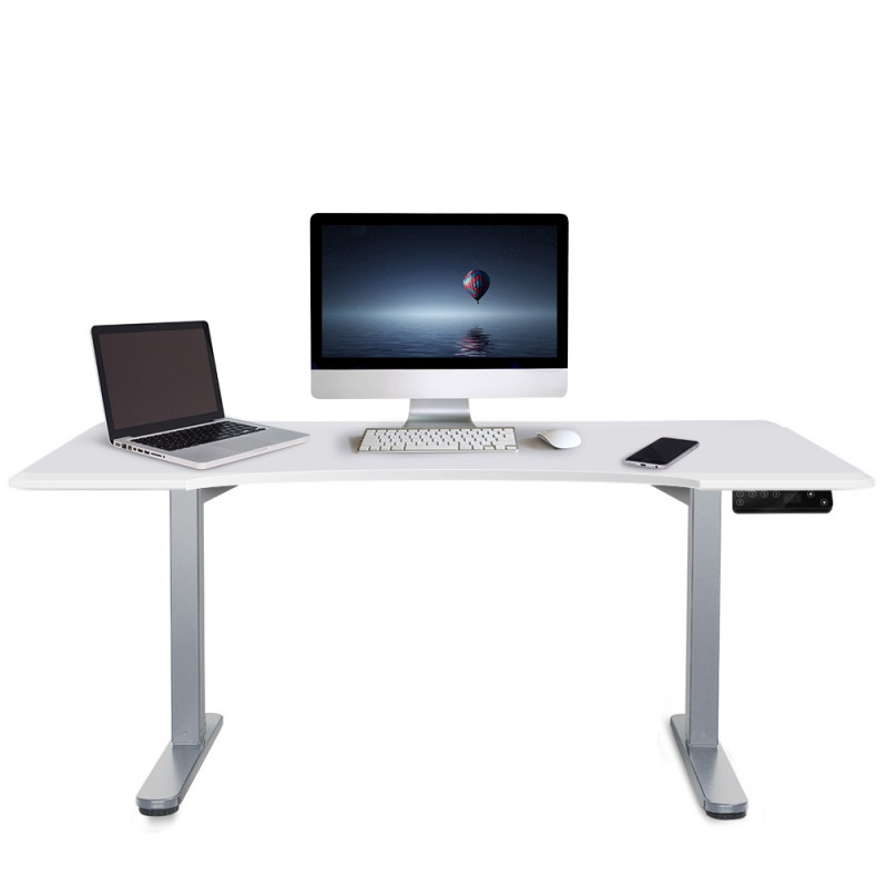 Height Adjustable Standing Desk Electric Motorised Sit Stand Up Office 160cm WT by Avante