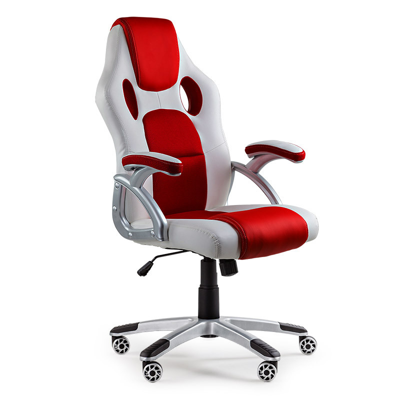 OVERDRIVE Racing Office Chair - Executive Computer Seat Gaming Deluxe PU Leather by Overdrive