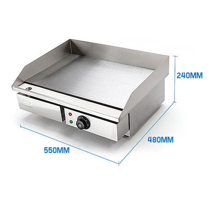 Electric Cooktop With Griddle ~ W stainless steel electric griddle grill cooktop