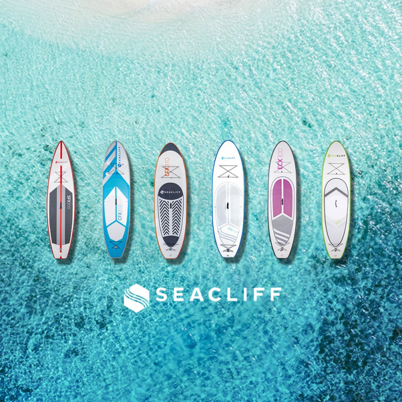 SEACLIFF Stand Up Paddle Board Inflatable SUP Paddleboard Surf Board Blow Green by Seacliff