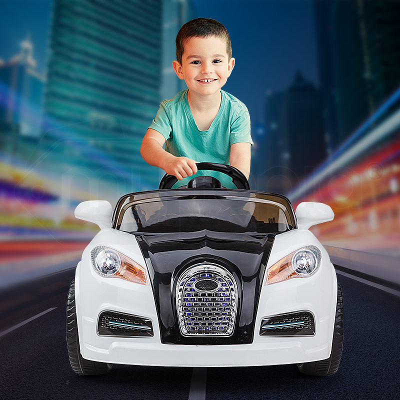 Kids Ride-On Electric Car Bugatti Style -Battery Children Sports Toy Remote by Rovo Kids