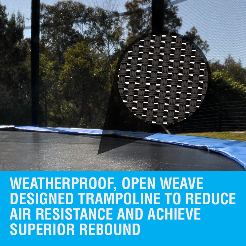 UP-SHOT 10ft Replacement Trampoline Mat 10ft - 64 Springs by Up-Shot