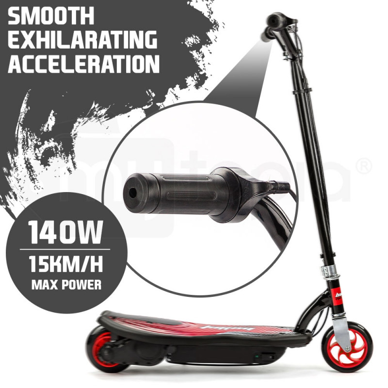 BULLET ZPS Kids Electric Scooter 140W Children Ride Toy Battery Boys Girls Red by Bullet