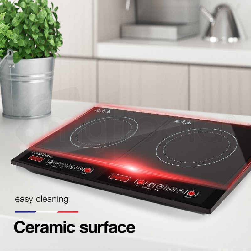 2000w Induction Cooktop Shop Euro Chef Induction Cooktops