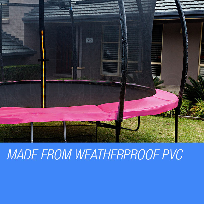 Pink 14ft Trampoline Pad Shop Up Shot Trampolines Mytopia