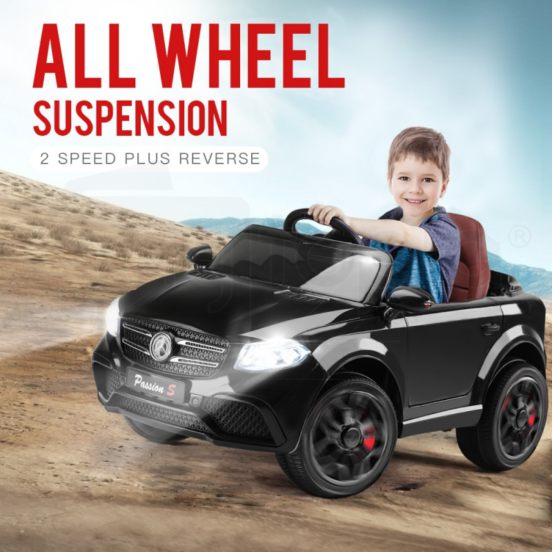 Mercedes Inspired Black Kids Ride On Car - GLC 55 by Rovo Kids