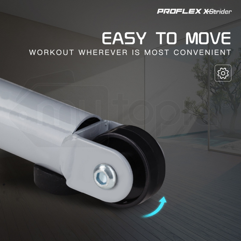 PROFLEX Electric Treadmill Compact Exercise Machine Walking Fitness Equipment by Proflex