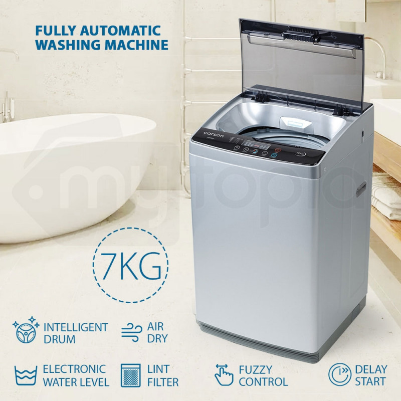 7kg Top Load Washing Machine - CSF7G3P by Carson