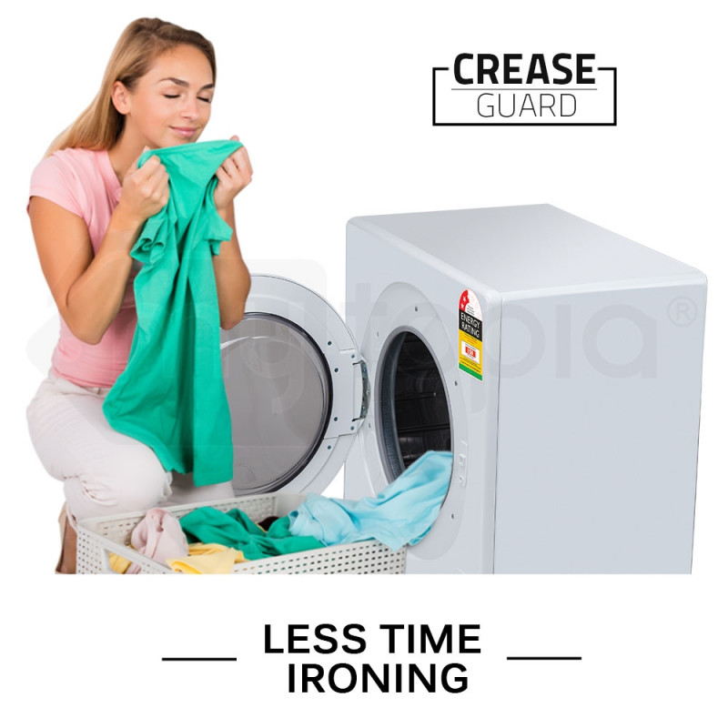 4kg Vented Clothes Dryer - CSF343W  by Carson
