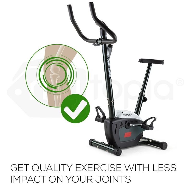 PROFLEX Exercise Bike - Fitness Cycling Bicycle Home Gym Cardio Equipment Spin by Proflex