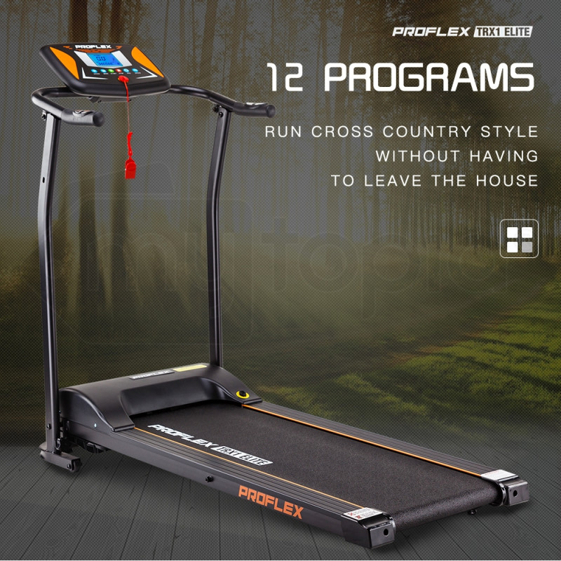 PROFLEX Electric Treadmill Exercise Fitness Equipment Home Gym Machine TRX1 by Proflex