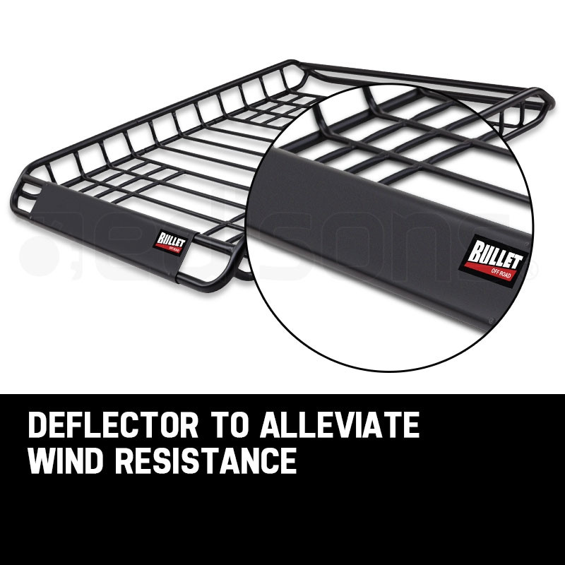 BULLET Universal Roof Rack Basket - Car Luggage Carrier Steel Cage Vehicle Cargo by