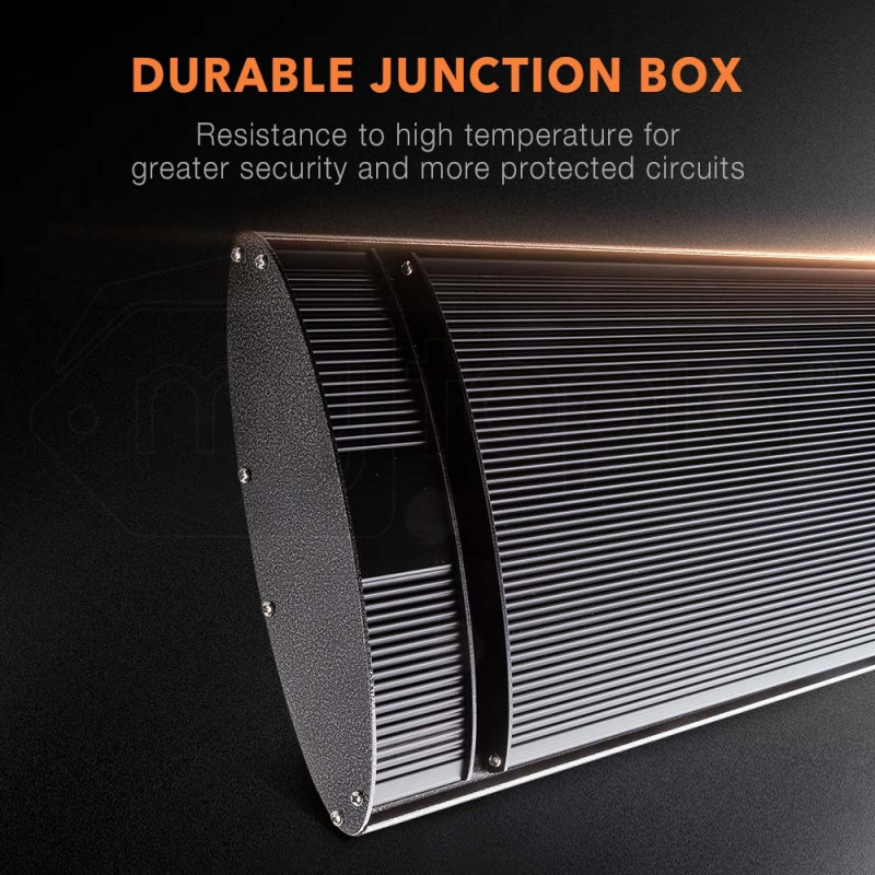 2400W Infrared Outdoor Electric Heater - Spectra 24 by Bio-Design
