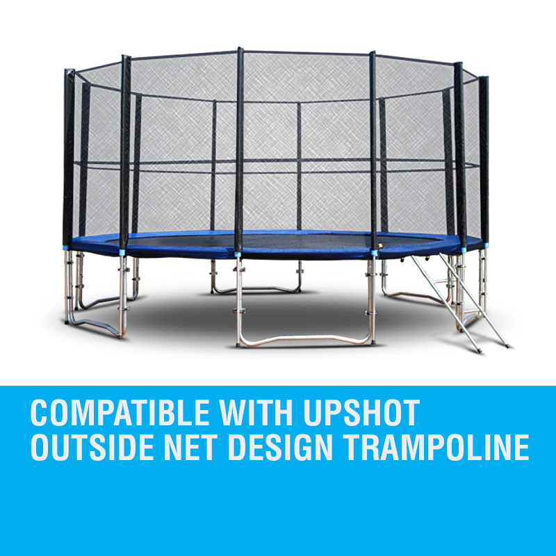 10ft Replacement Trampoline Mat- Outside Net Design