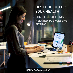 AVANTE Sit/Stand Height Adjustable Standing Desk Motorised Frame Silver by Avante