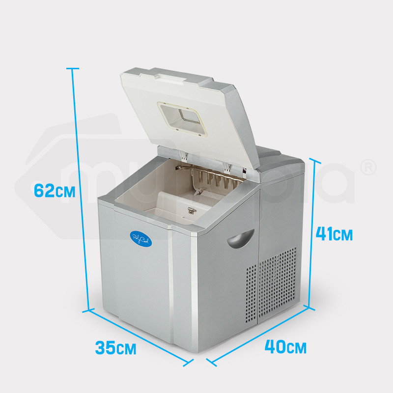 POLYCOOL 3.2L Portable Ice Cube Maker Machine Commercial Automatic Home Fast by PolyCool