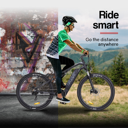 "VALK eMTB Maxxis Velo RockShox Dual Suspension eBike Electric Mountain Bike  29"" Black - MX9 by Valk"