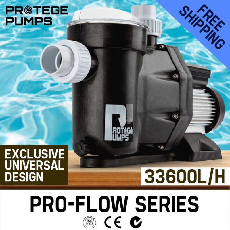 PROTEGE 2000W Swimming Pool Spa Water Pump Electric Self Priming Filter 560L/Min by Protege