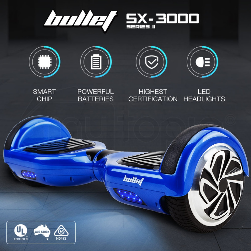 Blue Hoverboard Self Balancing Scooter - SX-3000 Series II by BULLET
