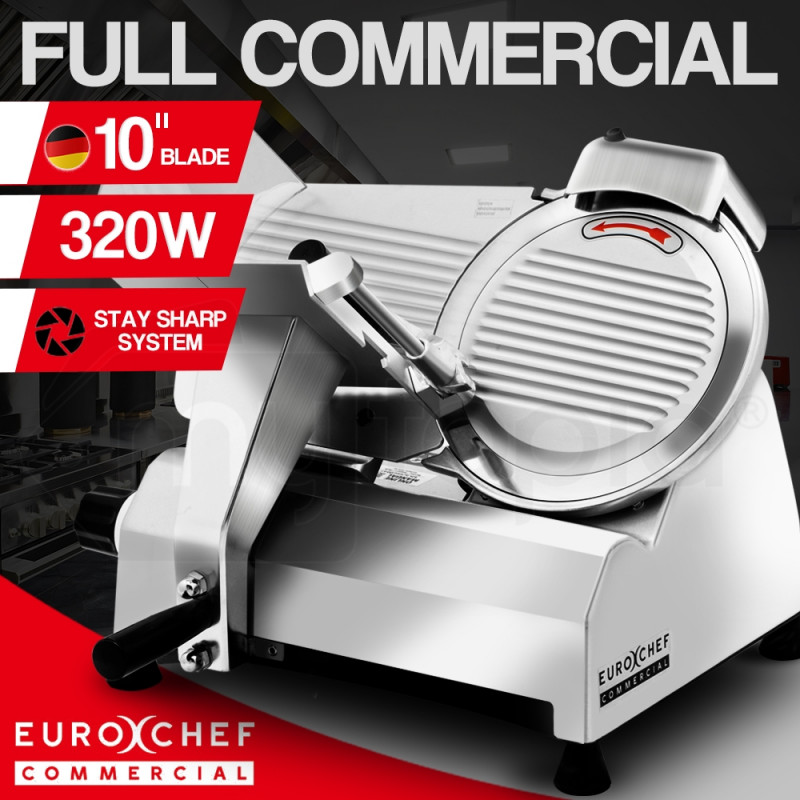 "EuroChef Commercial 10"" Meat Slicer Food Cutting Machine Electric Deli Shaver by EuroChef"