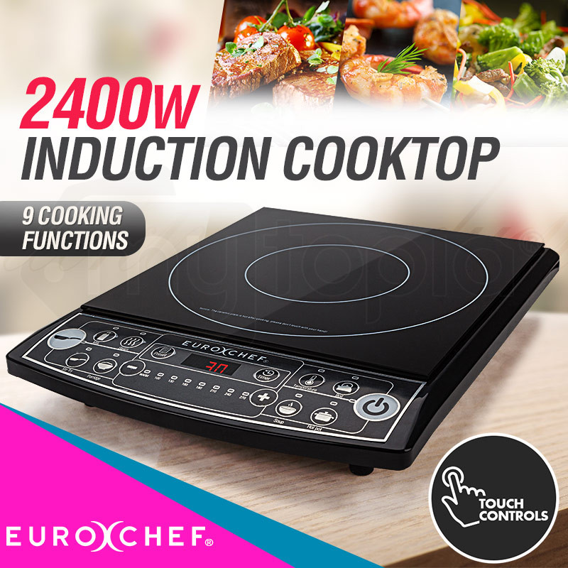 2000w induction cooktop shop euro chef induction cooktops - Thermometre cuisine compatible induction ...