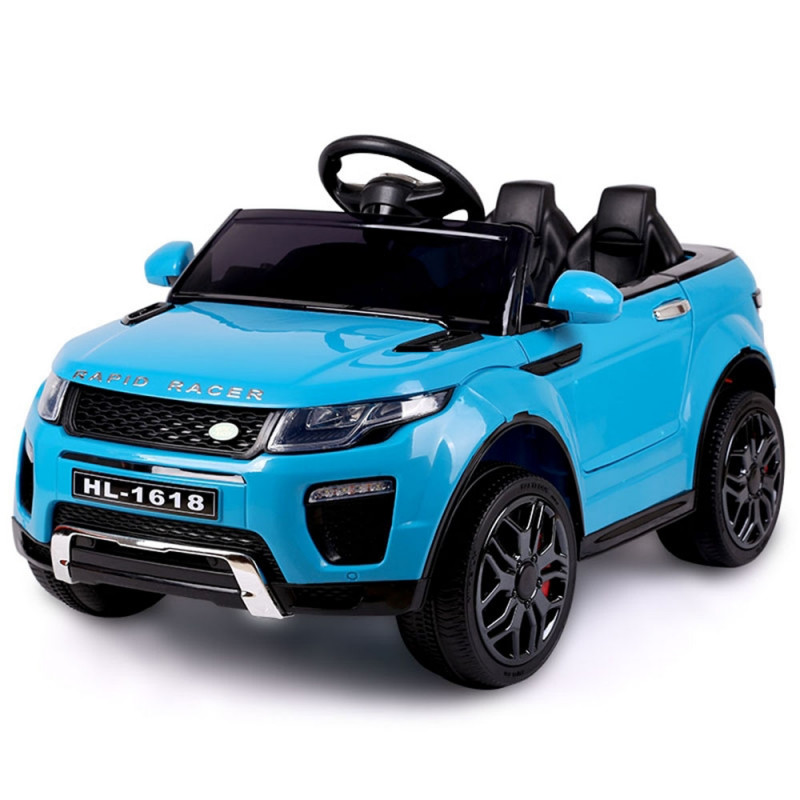 Range Rover Inspired Blue 12V Kids Ride On Ca - Evoque by Rovo Kids