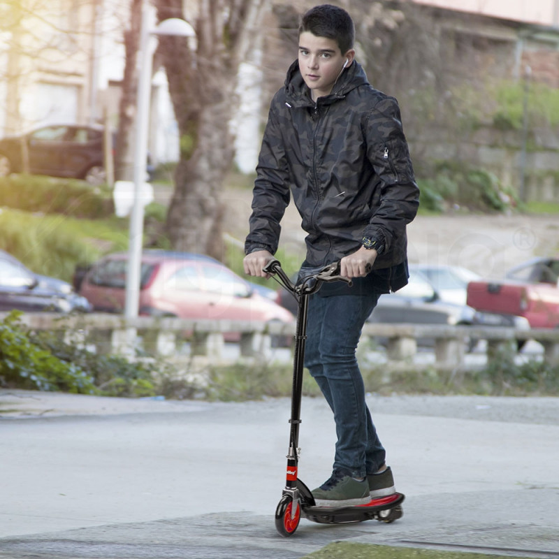 Red Mini Electric Kids Scooter- ZPS by BULLET
