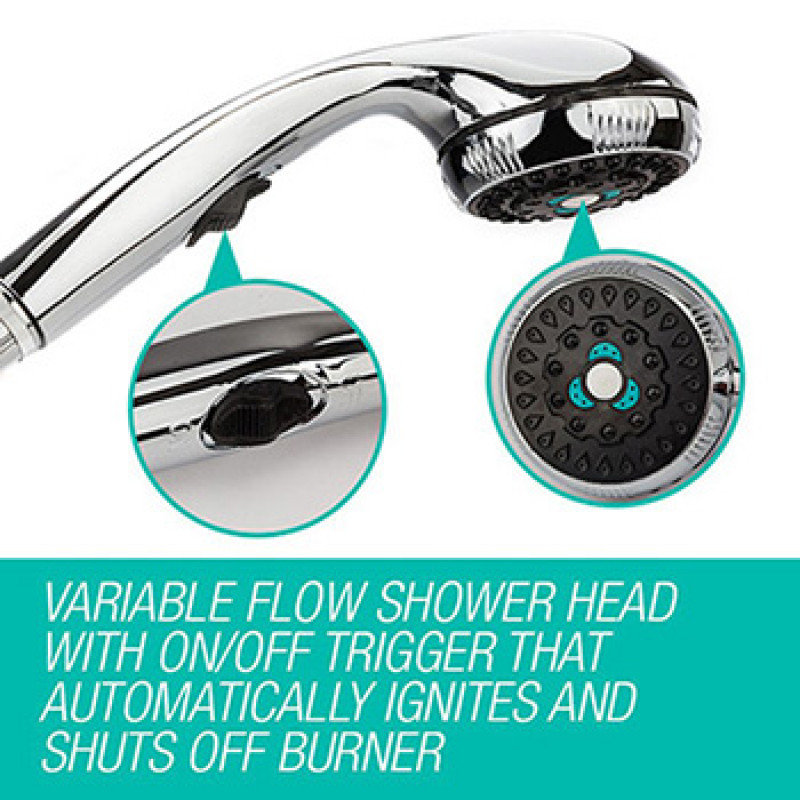 Portable Shower Head by Parts