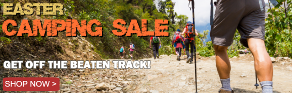 Easter Camping Sale